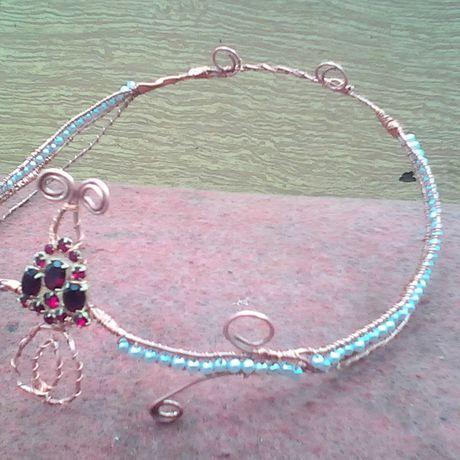 wrap wire венец эльфы проволока диадема медь