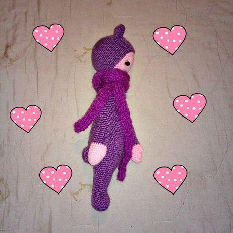 лалилала игрушка кукла ручная амигуруми работа