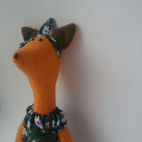 лисичка рыжаяплутовка тильда деньрождение ребенок лиса малыш своимируками кукла мягкаяигрушка подарок