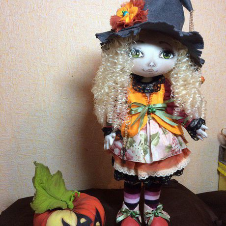 авторскаяигрушка кукла текстильнаякукла праздник подарок