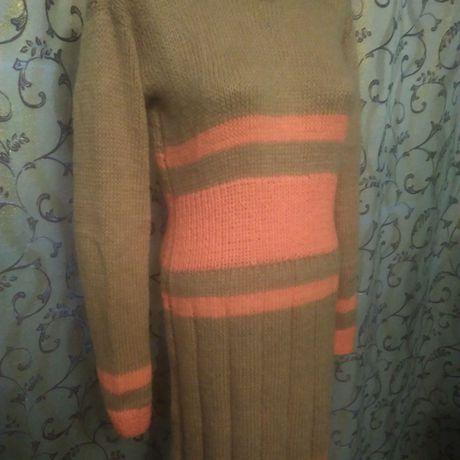 ручная платье работа вязание