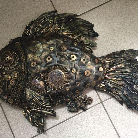 лето ракушки рыба дом кожа акрил стекло