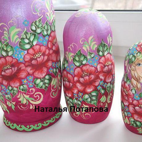 матрешки русская оптом  и кукла подарки сувениры ручная авторская роспись матрешка на заказ деревянная