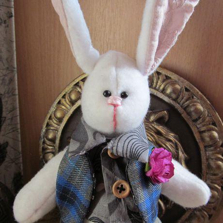 мягкая игрушка заяц подарок