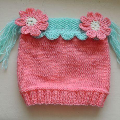 шапкадлядевочки цветочки осенняя детскаяшапка шапочкаклубничка весенняяшапка шапка шапочка