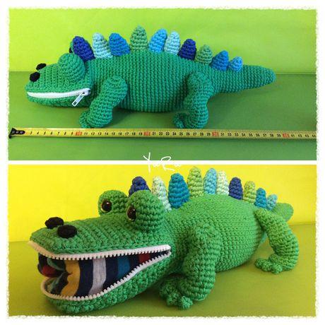 игрушка крокодил для необычный детям хендмейд пижамы пижамник