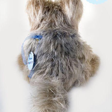 собака игрушка йорк сувенир щенок песик вязаная_кукла собачка кукла подарок