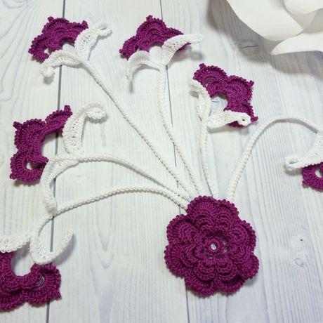 мотивы ирландское крючком скрапбукинг кружево цветы