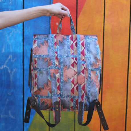 городской кожаный текстильный вместительный сумка купить рюкзак яркий