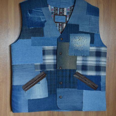 джинс мужскойодежда кожа кэжуал купить стиль своимируками hendmade жилет креатив мода