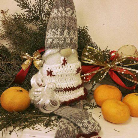 подарки handmade детям из ручнаяработа ткани интерьерныеигрушки гномы праздники