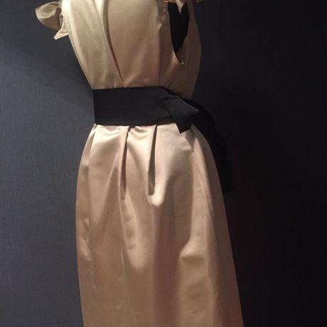 красота шить платье нитки ткань девушка мода