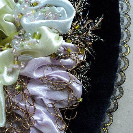 купитькартину handmade ленты картины вышивкабисером рукоделие панно вышитаякартина бисер хобби