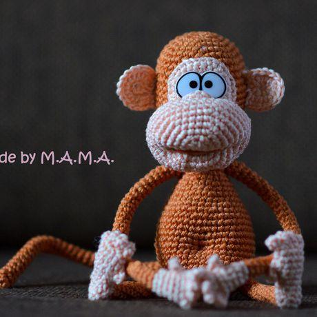 игрушка 2016 новогоднее года амигуруми обезьянка символ