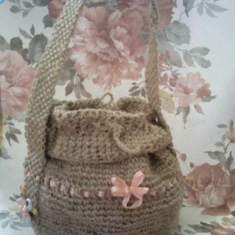 крючек кисет пенька сумка девушка ребёнок праздник эксклюзив женщина народный макраме оригинальный подарок