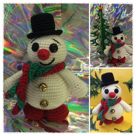 игрушка сувенир снеговик подарок
