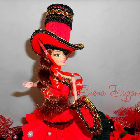 конфетсладкий подарокоригинальный конфет кукла из подарокбукет