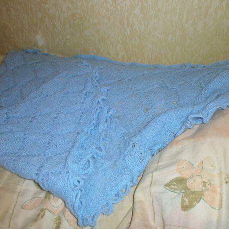 шаль спицах на вязание