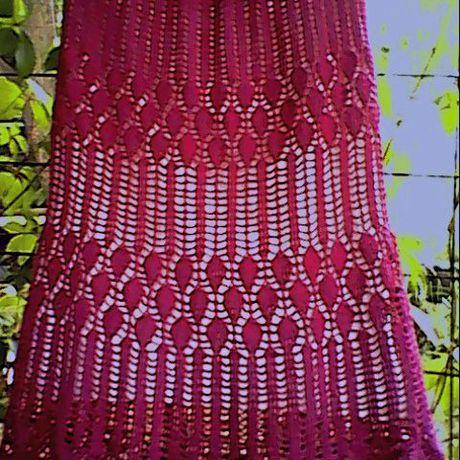 юбка крючком большой размер бохо