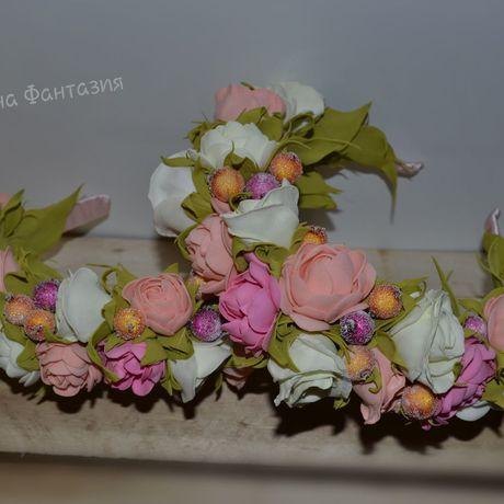 handmade ободоксцветами ободок длямамыдочки ободокручнойработы