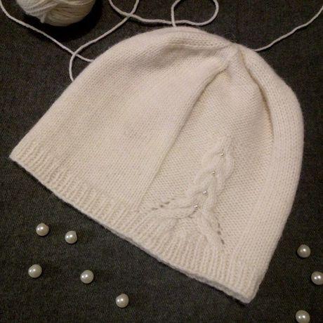 вязание женскаяшапка шапка