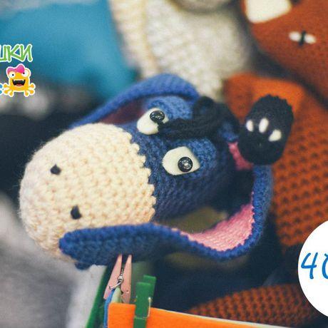 вязанаясумка crochet ослик smartphonebag футлярдлясмартфона осликиа трогательныйподарок сумкаигрушка срадостьюнапрогулку toybag donkey russianeeyore трилягушки