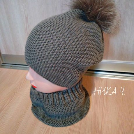 шапка снуд handmad ручнаяработа заказ