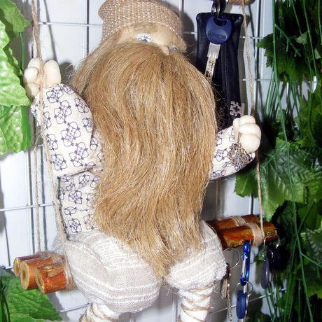 домовой интерьер кукла ручнаяработа ключница оберег