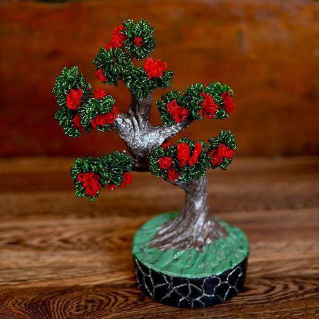 дерево бисер handmade бисероплетение ручнаяработа цветы