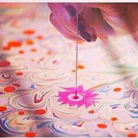 мастер-класс обучение восточноеискусство рисованиенаводе древнееискусство эбру восток рисование живопись вода