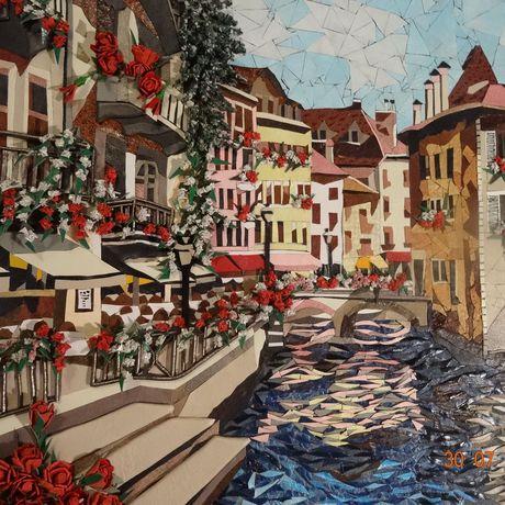 пейзаж италия картины картинаизкожи мозаикаизкожи