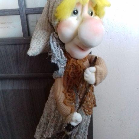 интерьерная своими поделки чулочные чулочная руками кукла подарок