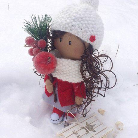 интерьерная куклаизткани кукла текстильнаякукла авторскаякукла