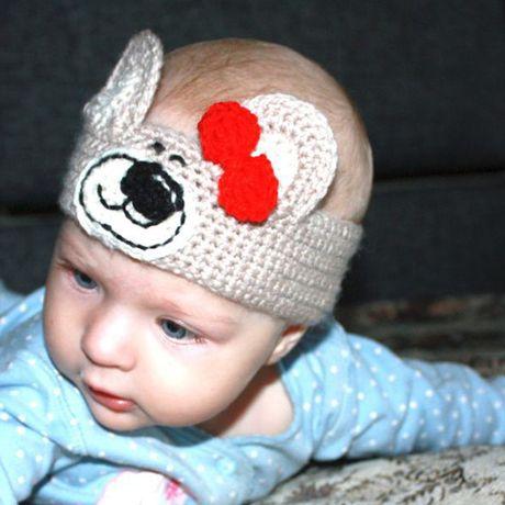 вязаная волос повязка аксессуары малышки ручная для детям мультяшная вязаные ушками продажа купить связанное работа крючком с