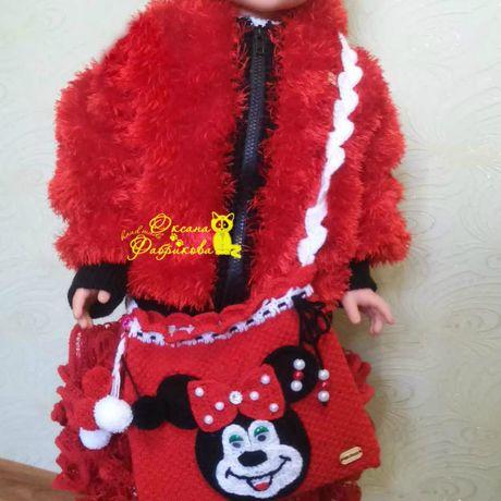 детское на детский вязание костюм заказ рукоделие спицами мишка крючком детская платье сумочка кофта твязание микки маус шапока