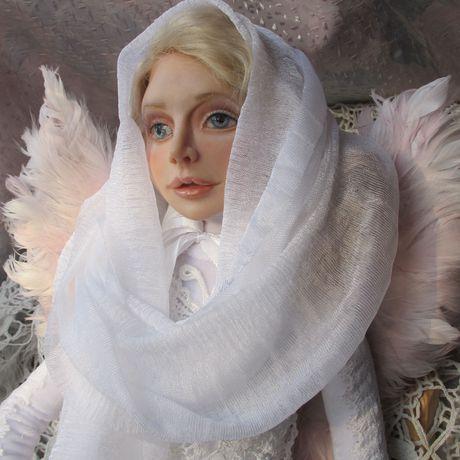 ангелянварский ангелподарок рождениясказочные существапортретная кукла день на