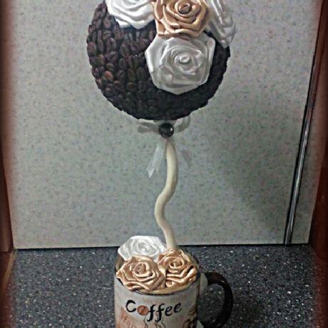 кофейныедеревья зернакофе кофейныепарящиечашки кофе интерьер топиарии