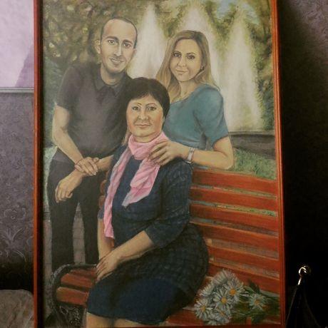 питер чтоподарить ручная портрет художник спб работа рисунок картина подарок