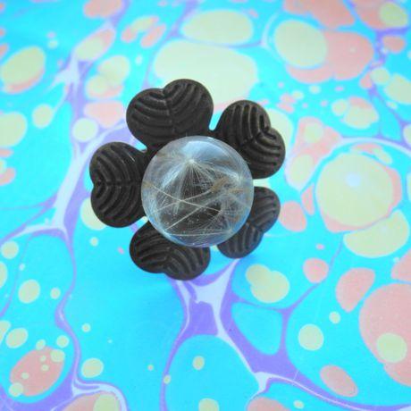 украшения handmade подаркиручнойработы proglina белоусоваанна эпоксиднаясмола бижутерия кольцо своимируками сухоцветы