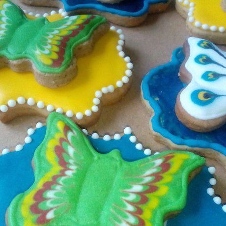 имбирное печенье с_глазурью