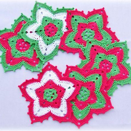 под подставки горячее украшение новый декор вязание крючком год подарок