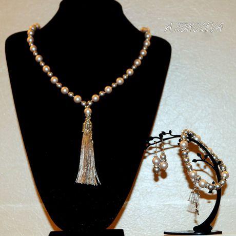 украшения серьги браслет серый бижутерия пастель майорка сотуар жемчуг
