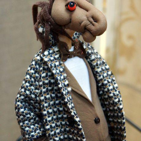 лошадь кукла оригинальныйподарок коньвпальто конь авторскаяработа роскошь кукланазаказ ручнаяработа эксклюзив подарок