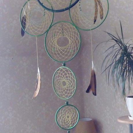 талисман ловецснов ловец ловушка для снов украшение ручнаяработа амулет спальня подарок