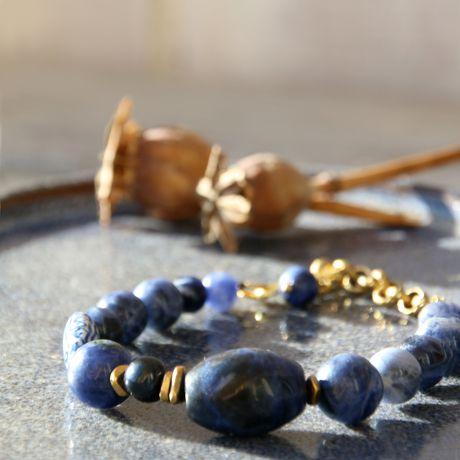 интуиция космос этнический водолей украшения браслет вечерний авторские синий белый натуральные камни небо