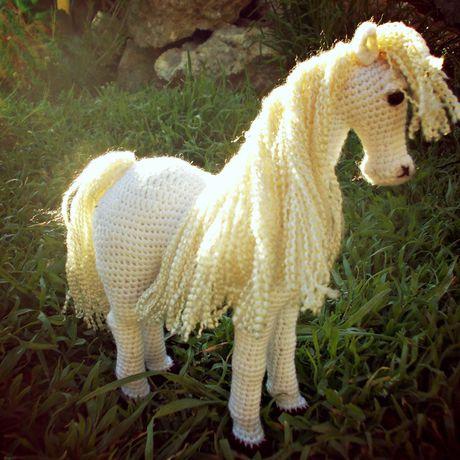 игрушка амигуруми лошадка подарок