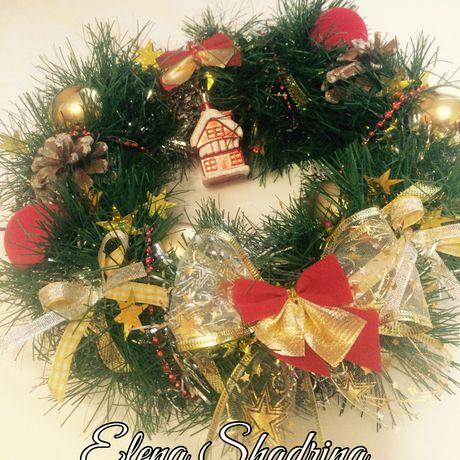 новогоднийвенок рождественскийвенок ижевск декор ручнаяработа подарок