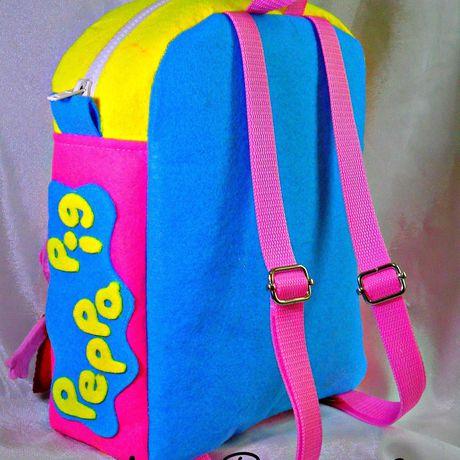 мультик сумка свинкапеппа маленьким малышам рюкзак детям подарок