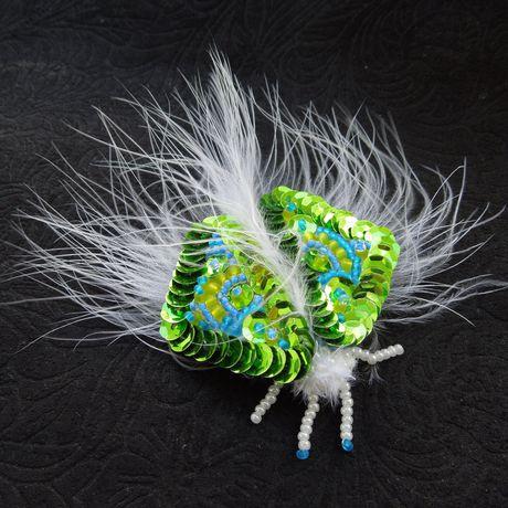 аленаэир насекомое мотылек бабочка брошь купить вышивкабисером купитьброшь украшение подарок