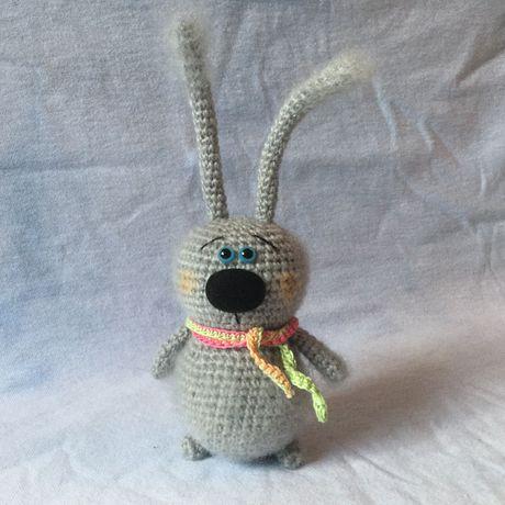 игрушка заяц ручнаяработа